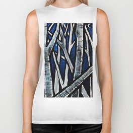 Forest Through the Trees Biker Tank
