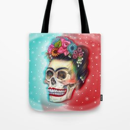 Frida's Skull ~Variation Tote Bag
