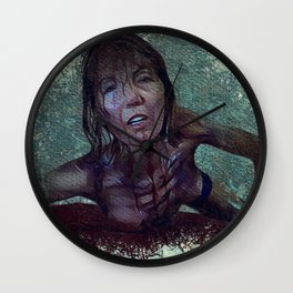 Zombie Woman Mark Two Wall Clock