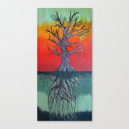 Life Above and Below Canvas Print