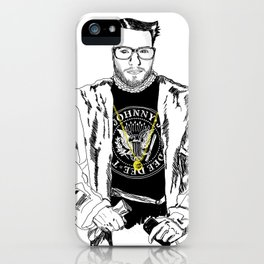 Lord WTF from Madrid is in da hause iPhone Case