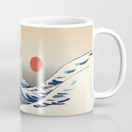The Great Wave of Chihuahua Coffee Mug