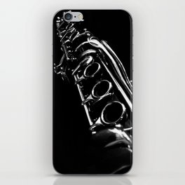 B&W Clarinet iPhone Skin