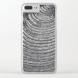 Ancient Shell Clear iPhone Case