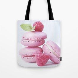 macarons and raspberries #society6 #buyart #decor Tote Bag