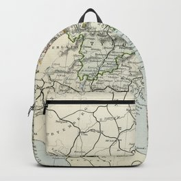 Austria Vintage Map Backpack
