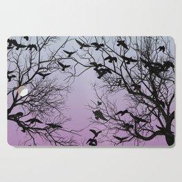 Crow flock Cutting Board