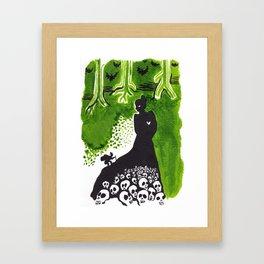 The Legend of Batwood Forest Framed Art Print