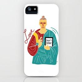 Jeezus iPhone Case