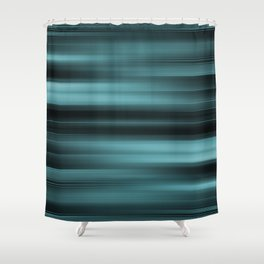 Abstract Rays - Warps design Shower Curtain