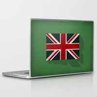 union jack Laptop & iPad Skins featuring Union by rob art | simple