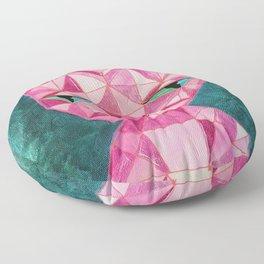 Crystal Kitty - Painting Floor Pillow