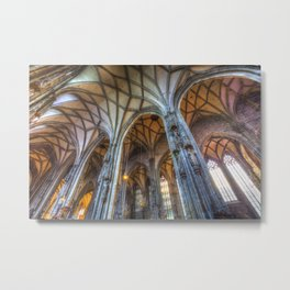 St Stephen's Cathedral Vienna Metal Print