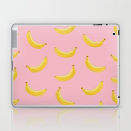Banana in pink Laptop & iPad Skin