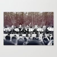 fifth harmony Canvas Prints featuring Fifth Harmony by xamjx3