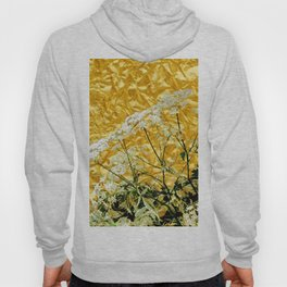 GOLDEN LACE FLOWERS FROM SOCIETY6 BY SHARLESART. Hoody