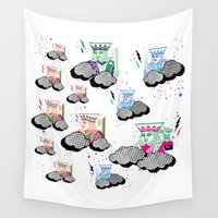 poker Wall Tapestries featuring Poker Toys MiX  by elRAiSE