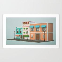 16S B Art Print