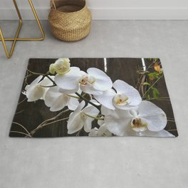 White Orchid Rug