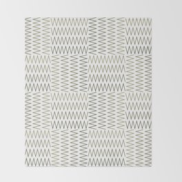 ZigZag (Absolute/Corner) Pattern Throw Blanket