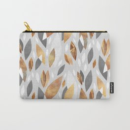 Falling Gold Leaves Carry-All Pouch