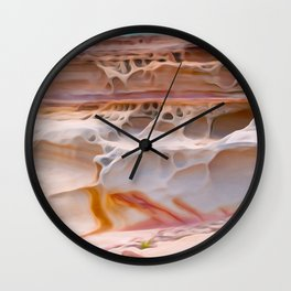 Undulating landscape 017 Wall Clock