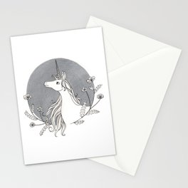 Unicorn & Nemophila Stationery Cards