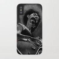 zappa iPhone & iPod Cases featuring Frank Zappa by Katon Aqhari