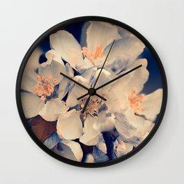 Almond bloom(3) Wall Clock