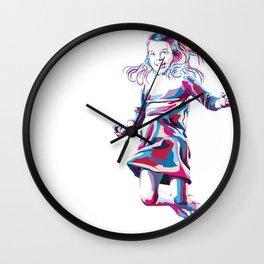 Little Girl Wall Clock