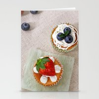 dessert Stationery Cards featuring DESSERT V by Ylenia Pizzetti