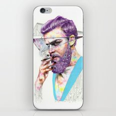 Clown on the Outside iPhone & iPod Skin