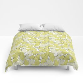 ginkgo leaves (special edition) Comforters