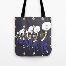 Mardi Gras - I Came for the Bands! Tote Bag