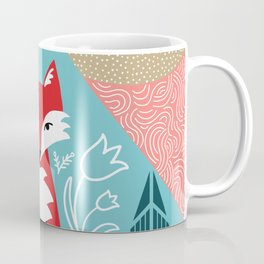 Winter Fox Coffee Mug