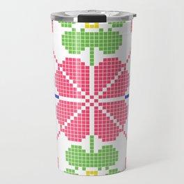 slovakia folk pattern Travel Mug