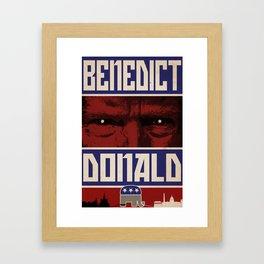 Benedict Donald Framed Art Print