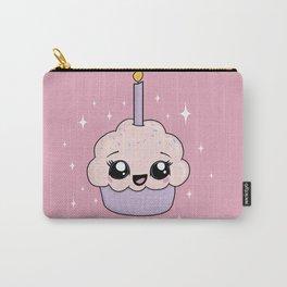 Cute Kawaii Cupcake - Happy Birthday Carry-All Pouch