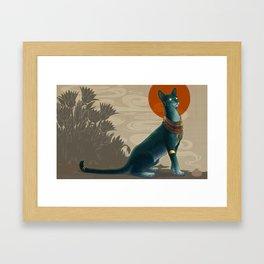 Egyptian Mau Framed Art Print