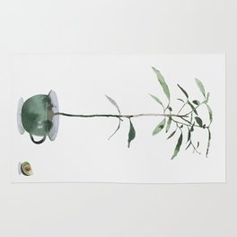 Avocado Tree Rug