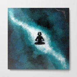 Avatar State Milky Way Metal Print