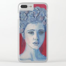 Mimosas Maiden 2 Clear iPhone Case