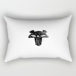 The Mega Plush Skull Rectangular Pillow