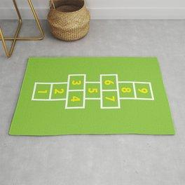 Hopscotch Green Rug