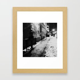 the continental Framed Art Print