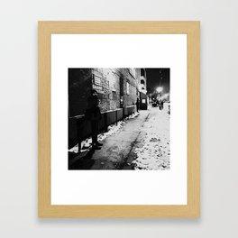 the continental Framed Art Print