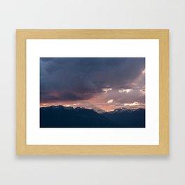 Sharp Edge Framed Art Print