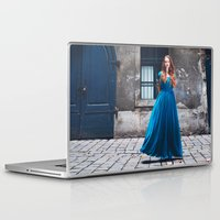queen Laptop & iPad Skins featuring Queen by Jovana Rikalo