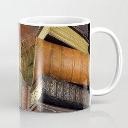 DECORATIVE  ANTIQUE LIBRARY, LEDGERS &  BOOKS ART Coffee Mug