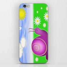 Snails Life iPhone & iPod Skin